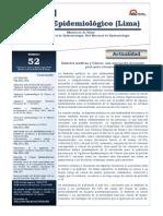 Boletin Epidem Peru 2012 CA Renal