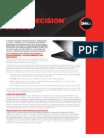 Workstation Precision m6400 Brochure