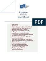 Reception Into the Local Church