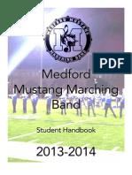 Band Student Handbook 2013 - 2014