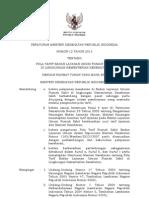 Permenkes No. 12 tahun 2013 Tentang Pola Tarif BLU Rumah Sakit