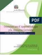 Orientaciones Apoyo Psicopedagogico Adpataciones Curriculares