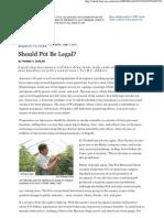 Should Pot Be Legal Barrons