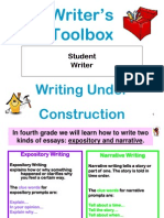 Writers Toolbox Rev for Writing Party