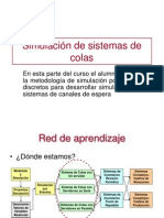 07 SIMULACION de SISTEMAS Simulacion de Sistemas de Colas
