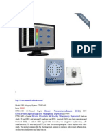 Digital Brain Neurofeedback EEG ECG Electroencephalogram Mapping System Device
