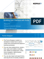 Building User Interface With Kofax TotalAgility