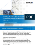 Building BPM and Dynamic Case Management With TotalAgility