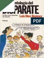 Nueva Antologia Del Disparate Diez Jimenez Luis