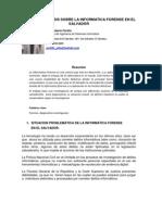 P3-Estudio y Analisis Sobre La Informatica Forense en El Salvador