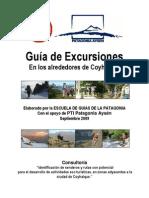 Manual de Excursiones en Los Alrededores de Coyhaique