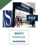 WHSmith Australia Site Update May 2013