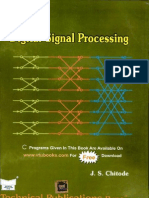 Digital Signal Processing-Chitode