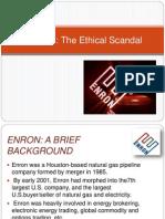 Ethics Enron Scandal