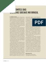 Horizontes das ciências sociais no Brasil (resenhas)