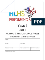 homework booklet unit 1