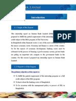 Internship Report on Jamuna Bank