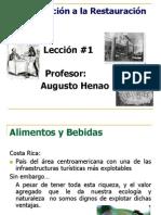 AHENAO Introduccion a La Restauracion Leccion. 12