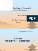 DrTTA Rural Development 20130617