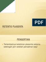 Retentio Plasenta