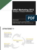 Presentation Stephane Bouchez Email Marketing