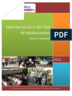 2012 Informe CA