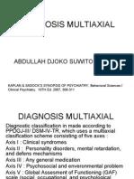 Diagnosis Multiaxial
