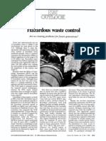 Hazardous Waste Control L3
