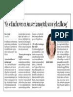 Amsterdam Als Financieel Centrum is Passe?