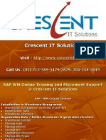 SAP WM Online Training and Placement
