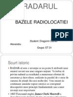 bazele radiolocatiei