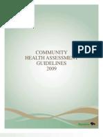Community Health Assessment Guidelines 2009
