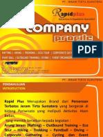 Company Profile RapidPlus - Adventure & Expedition Specialist in Sumatra