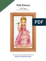Princess Pink Cross Stitch