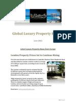 Global Luxury Property Report June 2013