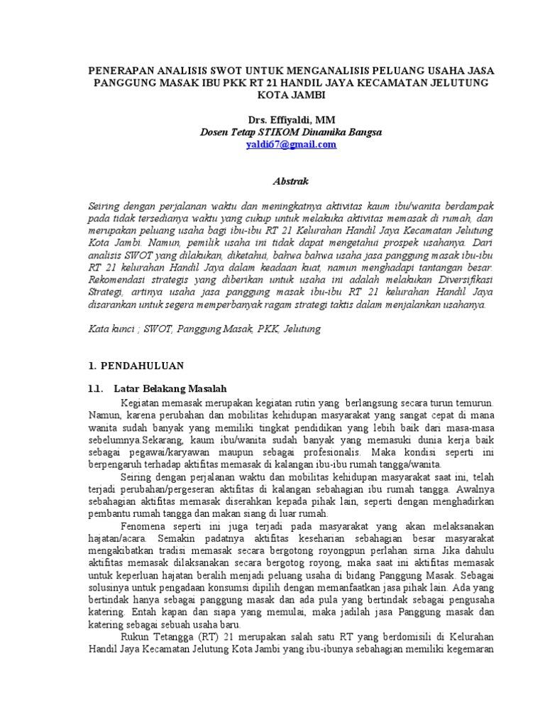 jurnal ptk bahasa indonesia pdf