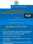 Pay Structure of Public Employees in Pakistan