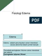 Fisiologi Edema