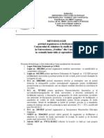Metodologie Organizare Si Desfasurare Admitere Licenta 2013_SJC