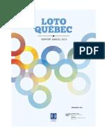Loto Quebec Rapport Annuel 2013 Fr
