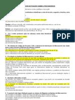 Exercicios Sobre Litisconsorcio 28-05-2013