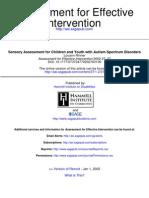 Assessment for Effective Intervention 2002 Rinner 37 46