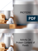 Protein Lab Report