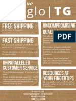 Tesglo Flyer | Why Choose Us