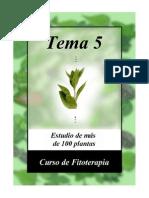 Fitoterapia 5 - Estudio de más de 100 plantas