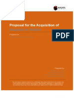 Research in Motion Acquisition Proposal
