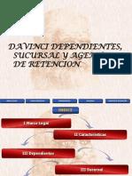 Presentación Davinci Dependientes, sucursal, agente retencion