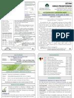 148- Boletim Informativo 16 de Junho de 2013