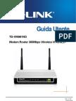 Modem Router Tp-link 300Mbps Wireless N ADSL2 Td-w8961nd