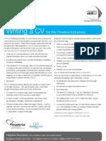 Skillset Factsheet - CV